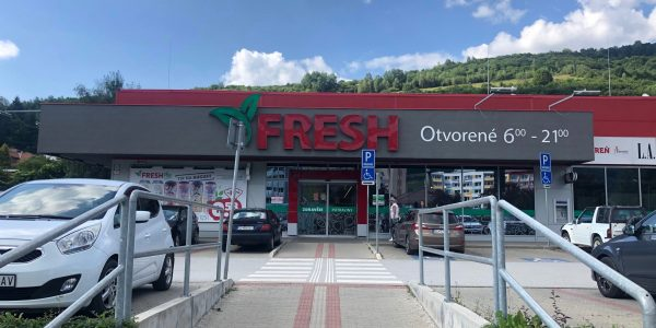 Supermarket FRESH v Gelnici